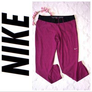 Nike Cropped foldover waist leggings